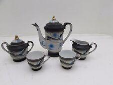 VINTAGE dragonware GEISHA GIAPPONESE lithopane servizio da tè