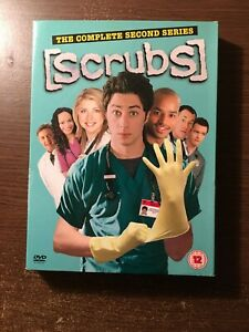Scrubs - Series 2 - Complete (DVD, 2005, 4-Disc Set)