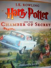 *1/1 PRINT/ED* Harry Potter and the Chamber of Secrets illustrated J. K. Rowling