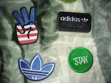 New set of 4 Authentic Adidas Iron-on patches