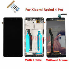 For Xiaomi Redmi 4 Pro LCD Display Touch Screen Digitizer Assembly+Frame