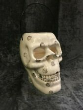 Skull LED Candle Light White Large Halloween Party Decoration NEW (A)