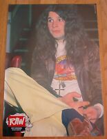 BLACK SABBATH Ozzy in Flares  magazine PHOTO / mini Poster 11x8""