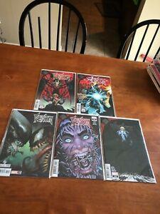 Venom #31-34 Lot King In Black Tie Ins NM/MT