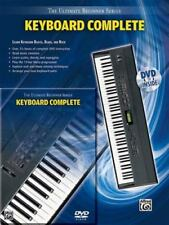 Ultimate Beginner Keyboard: Complete (Book & DVD (Hard Case)) (The Ultimate Begi