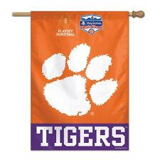 "CLEMSON TIGERS 2016 PLAY STATION FIESTA BOWL 27""X37"" BANNER FLAG NEW WINCRAFT"