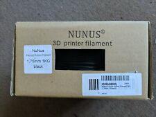 Nunus Black rubber 3D printing filament 1.75 mm 1 kg