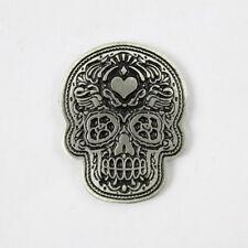 Biker Chopper poco LOGO Sugar Skull Day of the Dead pin spilla spilla