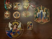 New ListingVintage Window Christmas Ornaments