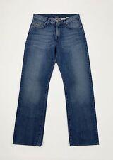 Calvin klein jeans uomo usato gamba dritta W30 tg 44 denim boyfriend blu T5567