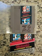 Super Mario Bros. and Duck Hunt NES with Instruction Booklet AND OEM CLAMSHELL