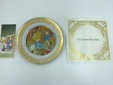 Grimm's Fairy Tales Franklin Porcelain 1978 The Shoemaker And The Elves