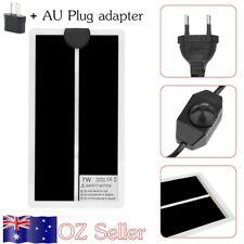 Heat Mat 15x28cm 7W Reptile Brooder Incubator Pet Heating Pad + AU Plug CO