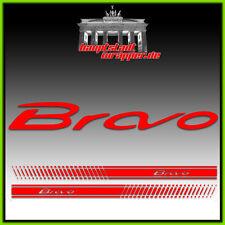 Fiat Bravo Abarth 500 EVO Seitenstreifen, Aufkleber, Schriftzug, Estetico *NEU*