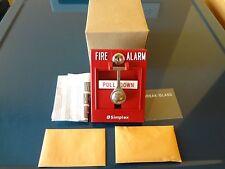 New Simplex 2099-9103 Fire Alarm manual pull station