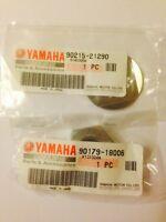 GENUINE YAMAHA YZF600R THUNDERCAT FRONT SPROCKET NUT AND WASHER KIT
