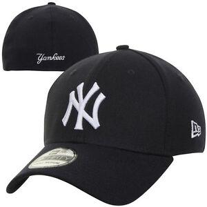 New York Yankees New Era MLB 39THIRTY Team Classic Stretch Fit Flex Cap Hat 3930
