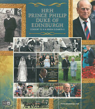 More details for isle of man iom 2021 mnh royalty stamps prince philip duke of edinburgh 6v m/s