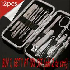 Stainless Steel Fnger Care Kit Nail Clippers Manicure Pedicure Cleaner Cuticle