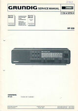 Grundig Service Anleitung Manual RF 630   B1075