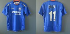 FC CHELSEA 05/06 HOME DUFF #11 FOOTBALL VINTAGE JERSEY SHIRT MENS SIZE S 5-/5