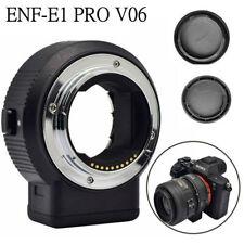 Commlite CM-ENF-E1 PRO V6 AF Lens Mount Adapter for Nikon F Lens to Sony E-mount