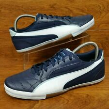 Puma Momentta Vulc Sala (Men's Size 11) Casual Leather Sneakers Brown