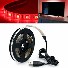 LED TV Back Light Bias Kit Multi-Color USB Power Strip Light Lamp Home Theater