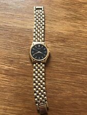 Gold Plated Seiko Gents Watch