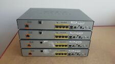 4 X CISCO 887M-K9 ROUTERS IOS 15 WITH POWER CUBE CCNA CCNP LAB