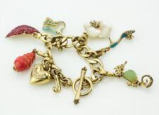 JUICY Gold Charm Bracelet