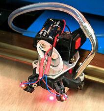 K40 Air Assist Nozzle, Dual Laser Diode position and  Depth Gauge