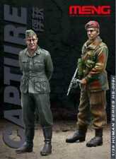 Meng 1:35 Capture British Commando German Officer 2 Resin Figures Kit #HS009R