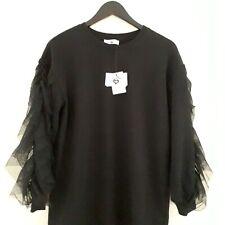 Women's Twinset Mini Abito Dress Size S Black