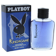 3 Pack King of the Game by Playboy for Men - 3.4 oz EDT Spray