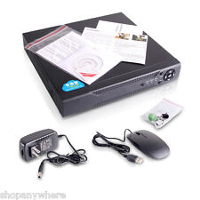 HDMI 4CH DVR H.264 Standalone Video Recorder for CCTV Analog Security Cameras