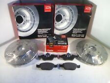Ford Fusion Front Brake Discs and Pads Set 2002-2012 *GENUINE APEC OE*