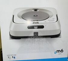 iRobot Braava Jet m6 WiFi Connected Robot Mop M6 (6110) - (M611020) No Reserve