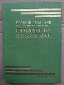 Edmond Rostand - Cyrano de Bergerac / Hachette , 1939