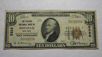 $10 1929 Potsdam New York NY National Currency Bank Note Bill Ch. #5228 VF! RARE