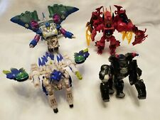 "Transformers Transmetals Beast Wars LOT OF 4 ""Incomplete"""