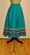 Vintage 80's Handmade FULL CIRCLE Skirt