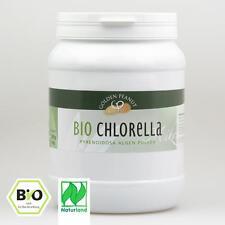 Bio Chlorella Pyrenoidosa Pulver Naturland 1 kg Dose Lebensmittelqualität