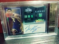 2017 Contenders Kyle Kuzma RC AUTO Playoff ticket 24/35 BGS 9.5/10 Gem Mint