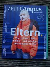 """Die Zeit """"Campus""""  Januar/Februar 2019 - Neuwertig, Thema: Eltern"""