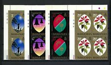 Bahamas 1972 Sc#339-42  Christmas  MNH Corner Blocks Set $5.20