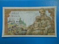 1000 francs déesse Déméter 18-11-1943 F40/40 PRESQUE NEUF