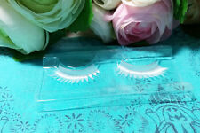 Snow White Eyelashes Thick Eyelashes Individual False Eyelashes For Party Lashes
