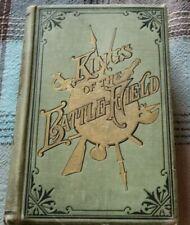 1884 1st Ed KINGS OF THE BATTLE-FIELD W SANFORD RAMEY Military Leaders GOLD GILT