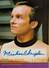 Star Trek Inflexions  (A134)  Michael Snyder as Crewman Dax Autograph Card
